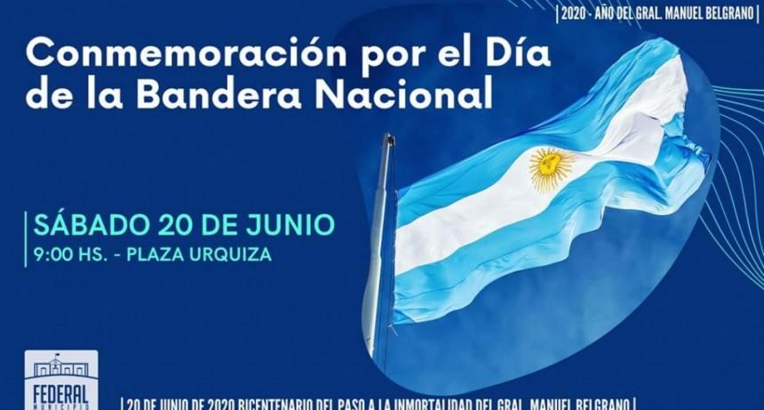 ACTO OFICIAL POR EL DÍA DE LA BANDERA NACIONAL .
