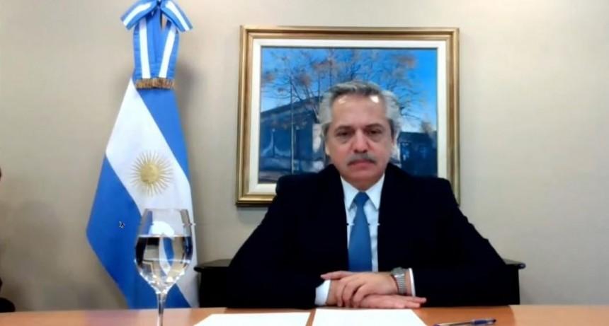 """Alberto Fernández: """"En no mucho tiempo más la economía va a funcionar a pleno"""