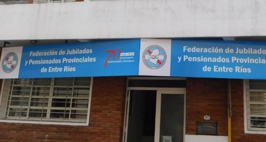 """Federación de Jubilados """"en total desacuerdo"""" con la reforma propuesta por el gobierno provincial"""