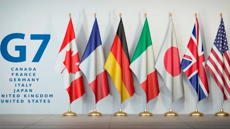 Acuerdo histórico del G7 para aplicar un impuesto global a grandes empresas