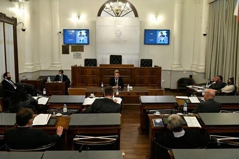 Senado: Se realizaron las audiencias públicas para aspirantes a fiscales de la provincia