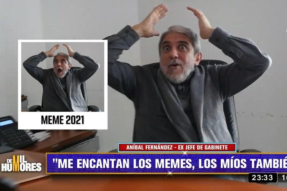"""Aníbal Fernández: """"La grieta es un neologismo inventado por el ruin de Macri"""""""