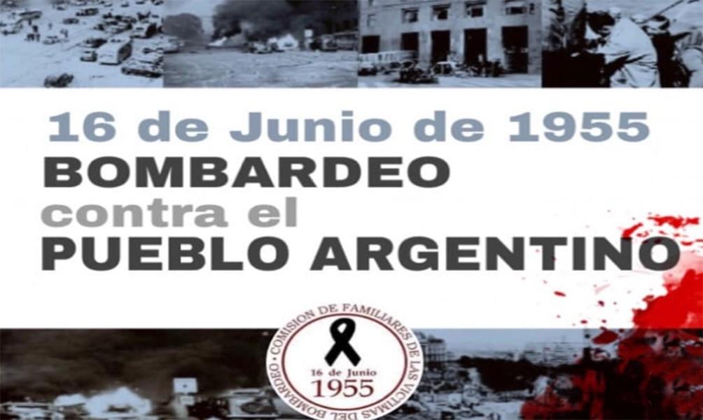 Derechos Humanos conmemora los 66 años del bombardeo a Plaza de Mayo