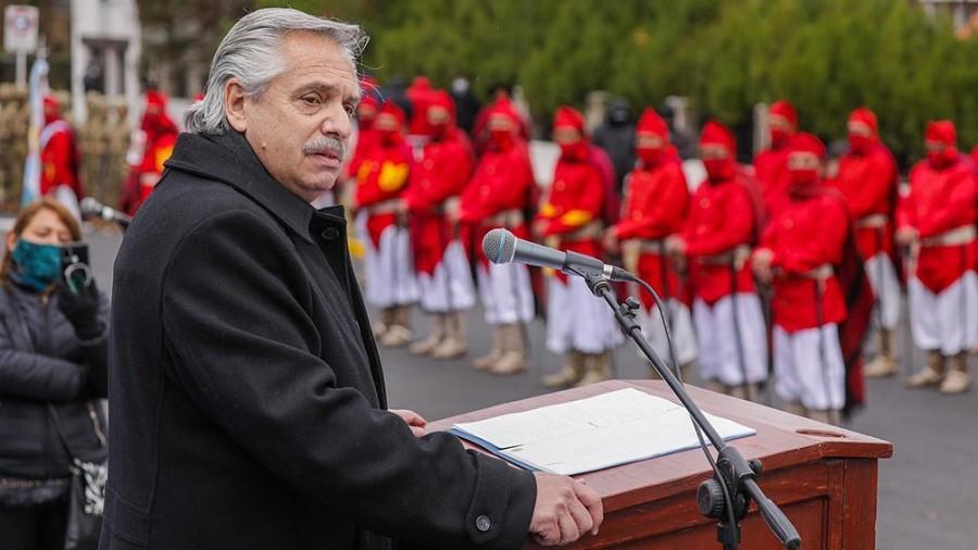 En Salta, Fernández recordó a Güemes y se comprometió a trabajar por la unidad del país
