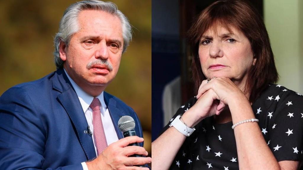 Alberto Fernández demandará a Patricia Bullrich por difamaciones