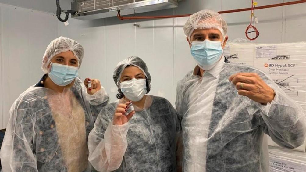 Sputnik V: terminó la producción local de las primeras 448.625 dosis de la vacuna