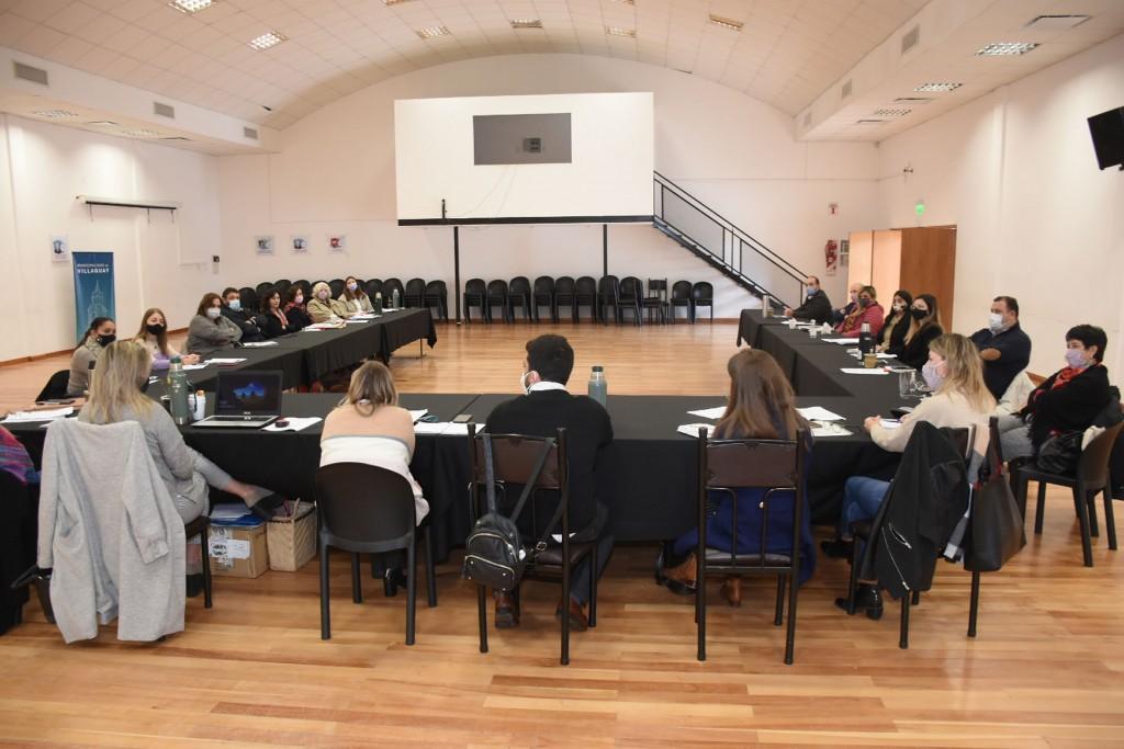 Se realizó un encuentro con coordinadores departamentales del Copnaf