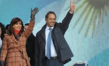 Scioli inauguró la ruta 6 junto con la Presidenta Cristina