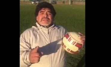El mensaje de Diego Maradona: