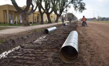 Luego de los reclamos: se realizan trabajos en la zona de las casas del IAPV