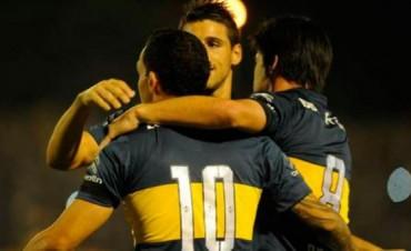 Boca goleó sin problemas a Banfield y pasó en la Copa Argentina