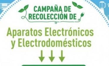 El próximo Jueves se iniciará la campaña de recolección de residuos electricos y electrónicos