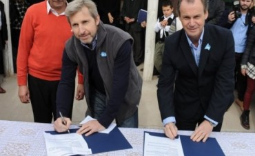 Frigerio y Bordet lanzaron el Plan Nacional de Hábitat en Entre Ríos