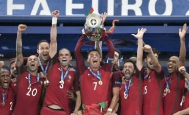 Portugal es el campeón de Europa por primera vez en la historia