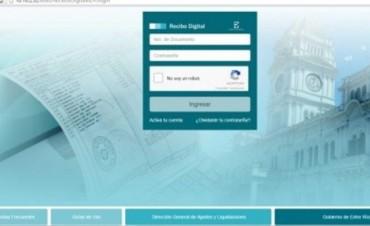 Más de 26.000 empleados provinciales ya accedieron al Recibo Digital