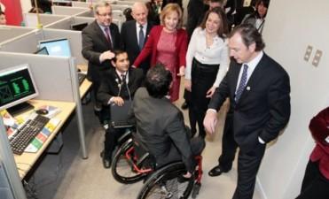 Se recepcionan proyectos inclusivos para personas con discapacidad