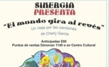 El Grupo Sinergia presentara un tributo a Charly Garcia