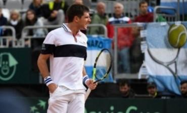 Delbonis venció al italiano Fognini y Argentina pasó a semifinales