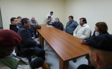 Reunión mensual del Consejo Asesor Vial del Departamento.