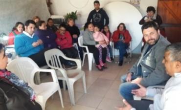 El Intendente se reunió con la Comisión Vecinal de Barrio Salto