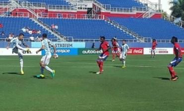 La selección olímpica derrotó a Haití en otro amistoso