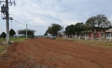 Trabajos de reconstrucción y mantenimiento de los caminos del departamento