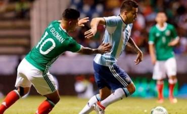 Argentina igualó con México en su último amistoso antes de los Juegos Olímpicos