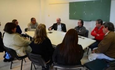 En su visita a Federal, el Ministro de Salud ratifico el respaldo al Dr Nieves al frente del Hospital Urquiza