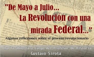 Charla para reflexionar sobre el proceso revolucionario