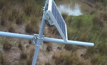 El Municipio colocó un límnigrafo en uno de los puentes del río Gualeguay