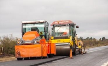 Avanza a buen ritmo la obra de rehabilitación de la ruta provincial 32