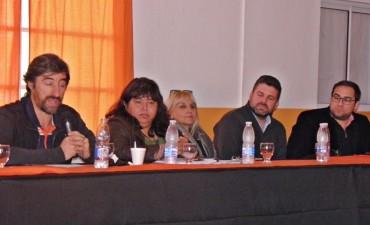 Funcionarios Provinciales del departamento realizaron un informe a la prensa, coordinados por la Senadora Miranda