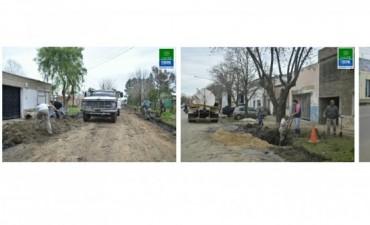Se realizaron tareas de mantenimiento en la ciudad