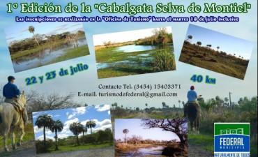 """1º Cabalgata """"Selva de Montiel"""""""