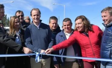 Bordet inauguró obras de infraestructura vial en el departamento Paraná