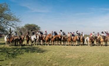 """Se llevó a cabo la 1º cabalgata """"Selva de Montiel"""""""