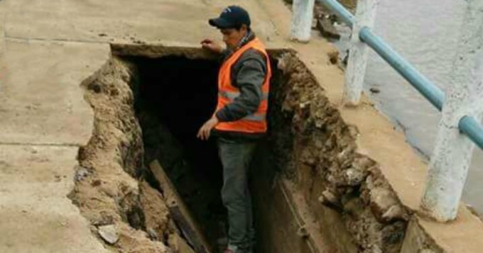 Al borde de la tragedia por derrumbe en peregrinación de Itatí