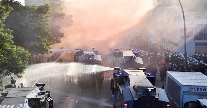 Graves incidentes en la cumbre del G-20 en Alemania