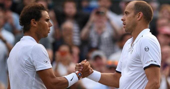 Nadal se fue de Wimbledon tras un maratónico partido