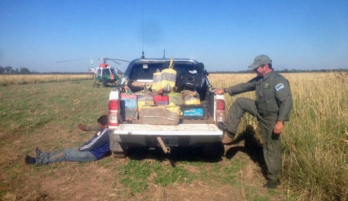 Incautaron 1.800 kilos de cocaína en Santiago del Estero