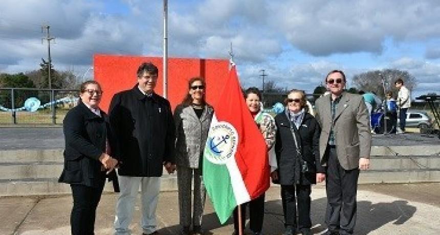 Acto por el día de la Independencia en Conscripto Bernardi