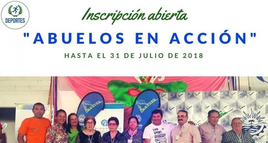 """INSCRIPCIÓN ABIERTA DE """"ABUELOS EN ACCIÓN"""""""