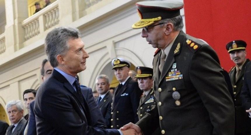 Macri quiere que las Fuerzas Armadas hagan seguridad interior