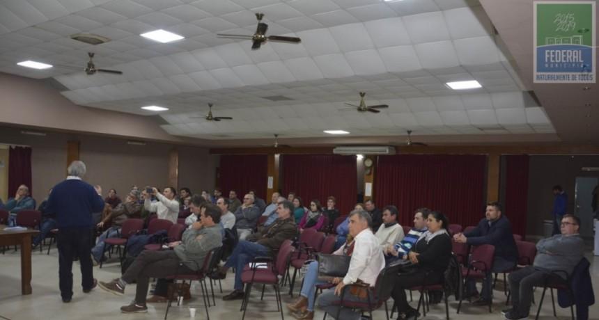 SE CONCRETÓ LA JORNADA REGIONAL DE COOPERATIVISMO EN FEDERAL