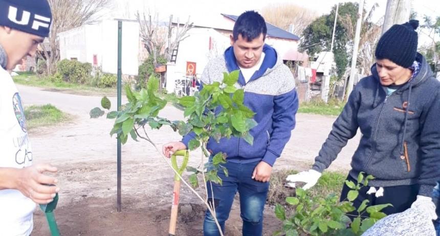 ACTIVIDADES AMBIENTALES JUNTO A LOS CUIDADORES DE LA CASA COMÚN Y EL TALLER PROTEGIDO SANTA ROSA