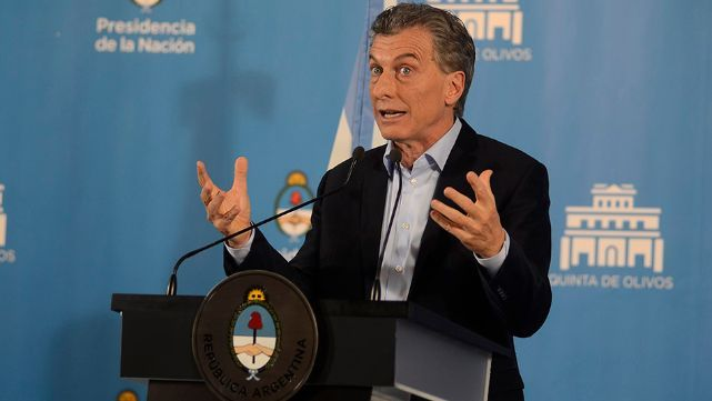 Macri criticó la marcha contra las Fuerzas Armadas