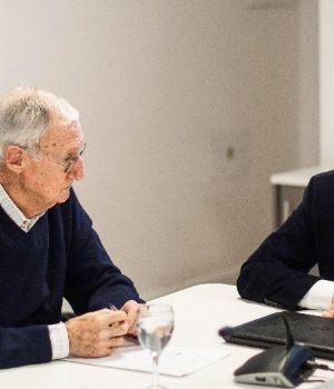 Solá se reunió con Balza y criticaron el uso de las Fuerzas Armadas en seguridad interior