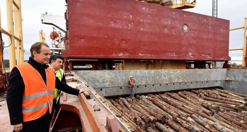 A través de sus puertos, Entre Ríos exportó más de 300.000 toneladas en los últimos seis meses