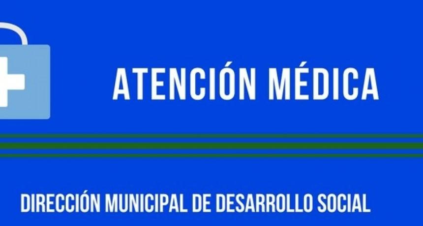 ATENCIÓN MÉDICA GRATUITA