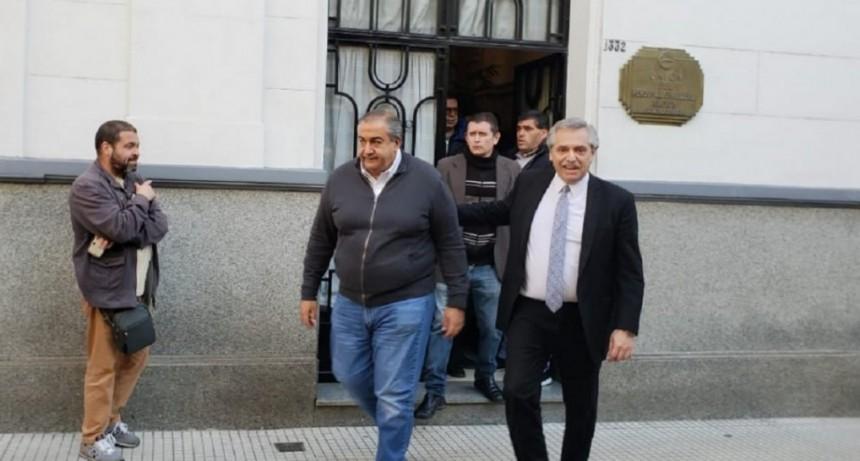Contundente respaldo del sindicalismo a la fórmula Fernández-Fernández